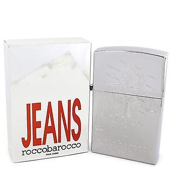 Roccobarocco jeans argentati eau de toilette spray (nuovo packaging) di roccobarocco 401069 75 ml