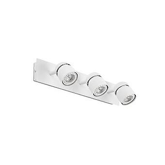 Triple Spotlight Wall Lamp White 3x GU10
