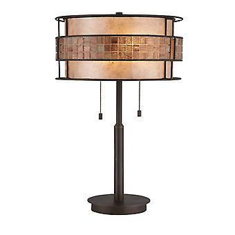 2 Lámpara de Mesa Ligera Renaissance Copper, E27
