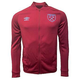 2020-2021 West Ham Presentation Jacket (Claret)