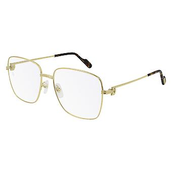 Cartier CT0253O 002 Gold Glasses