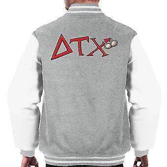 Animal House DTX Röd Logo Män's Varsity Jacket