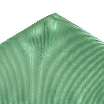 Solmiot Planet Tavallinen Tumma Sage Vihreä Ribbed Pocket Neliö Nenäliina