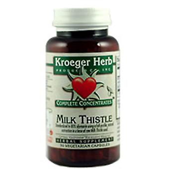 Kroeger Herb Milk Thistle 80%, Caps 90
