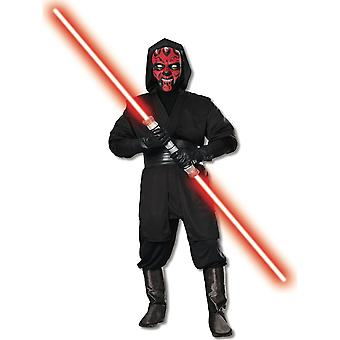 Disney Halloween Fancy Dress Costume Adult Unisex - Star Wars - Darth Maul
