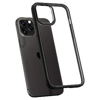 Case Voor iPhone 12 Pro Max (6.7) Ultra Hybrid Black Mat