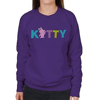 Pixar Monsters Inc Boo Kitty Monster Women's Sweatshirt