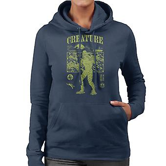 The Creature From The Black Lagoon Sunset Boat Women's Hooded Sweatshirt
