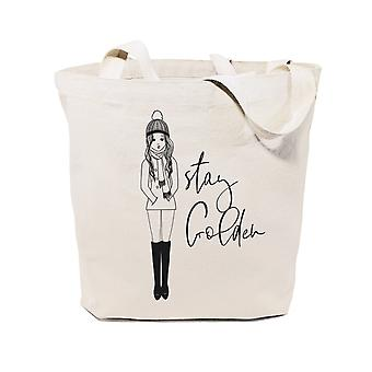 Stay Golden-cotton Canvas Tote Bag