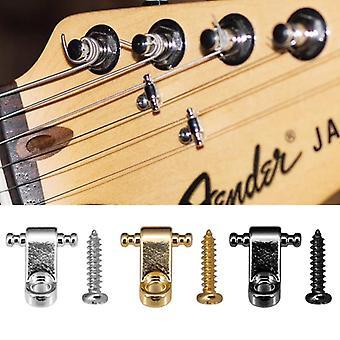 Elektrische gitaar snaar retainer met srews