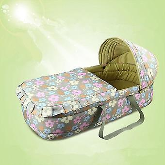 Polyester Waterproof / Windproof Warm Basket Type Portable Traveling, Baby Cot