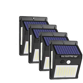 "Wasserdichte 100""led Solar Wall Light -Lampe mit Pir Motion-Sensor"
