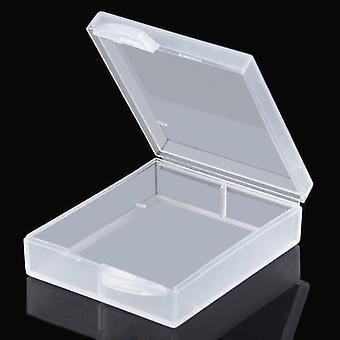 PULUZ Hard Plastic Transparent Battery Storage Box for GoPro HERO4 Battery AHDBT-401