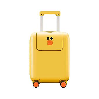 Kids Cartoon Trolley Spinner Suitcase Carry On Luggage For Trip