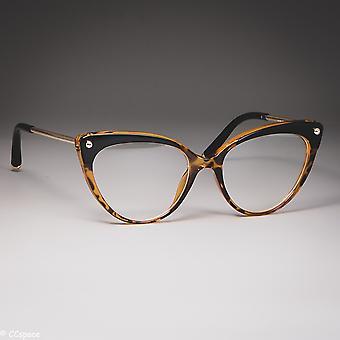Kissa silmälasit kehykset muovi titaani naiset trendikäs niitti tyylejä optinen