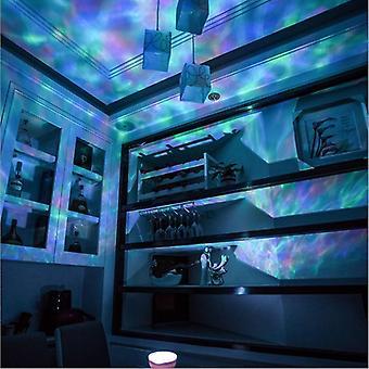 Versione Remote Ocean Romantic Starlight Projection Lamp Usb