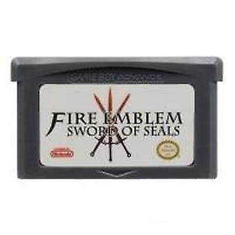 32 Bit Video Game Cartridge Console Kaart voor Gba Fire Emblem Serie Sword Of