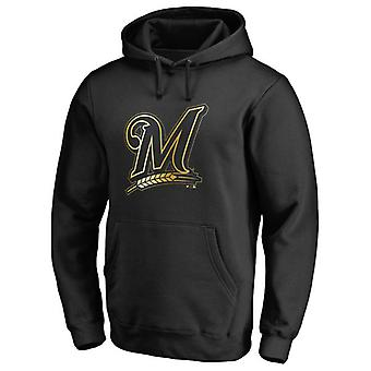 Milwaukee Brewers Guld Collection Pullover Hoodie Swearshirt Toppar 3WY060