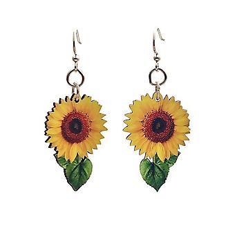 Vibrant Sunflower Earrings