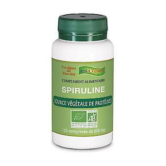Organic Spirulina 150 tablets of 500mg