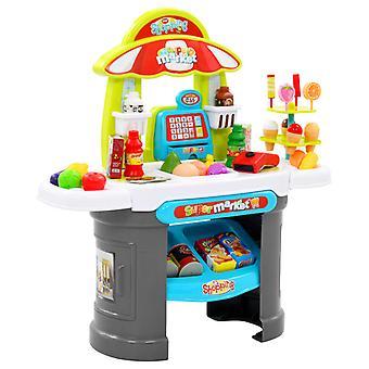 51-pcs. Children's Shopping Shop Play set 68 x 25 x 67.5 cm