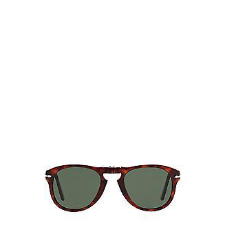 Persol PO0714 havana gafas de sol masculinas