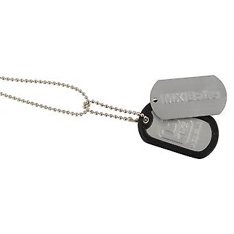 Dogtag Keyfob MX Babe - Includes Keychain Neckchain And Damper