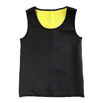 Männer Sweat Neopren Body Shaper, Weste Fitness Jacke Anzug