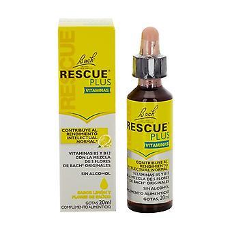 Bach Rescue Plus Vitamins Drops 20 ml
