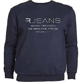 Replika Jeans Branded Sweatshirt