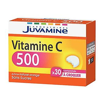 Vitamin C 500 - scored chewable tablets 30 chewable tablets