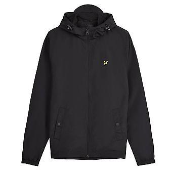 Lyle & Scott | Jk464v cremallera a través de chaqueta ligera con capucha