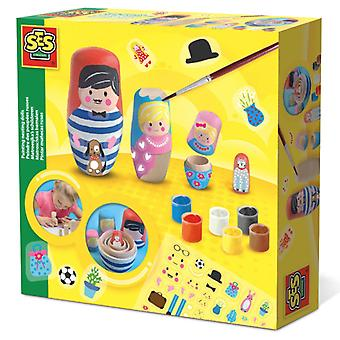 Ses creative painting nesting dolls