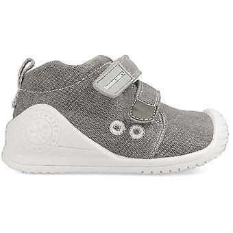 Biomecanics Boys 202210-B Canvas Shoes Grey