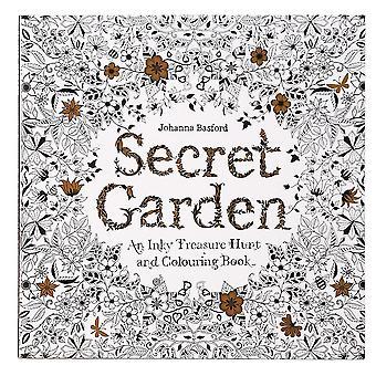 Секретный сад: темный цвет сокровища охоты и раскраски книги раскраски анимации