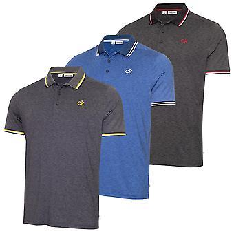 Calvin Klein Homme 2021 Casper Léger Wicking Quick Dry Golf Polo Shirt