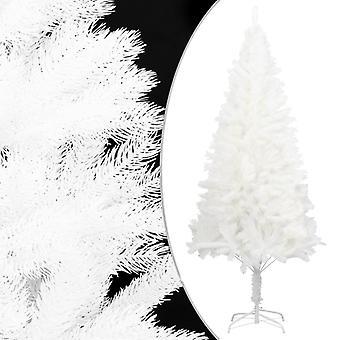 vidaXL الاصطناعية شجرة عيد الميلاد نابض بالحياة الإبر البيضاء 150 سم