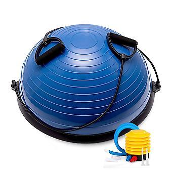 Hem Gym 58CM Balansboll Yoga Pilates Fitness Wobble Board Träning Med Pump