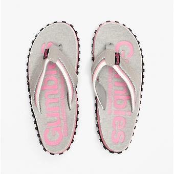 Gumbies Cairns Ladies Jersey Flip Flops Pink
