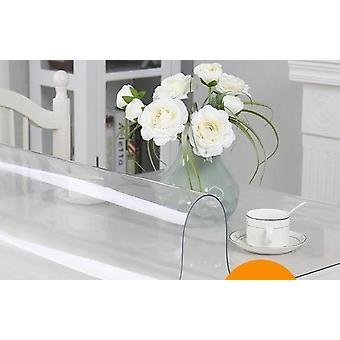 Pano de mesa de pano macio de vidro de linóleo padrão da cozinha