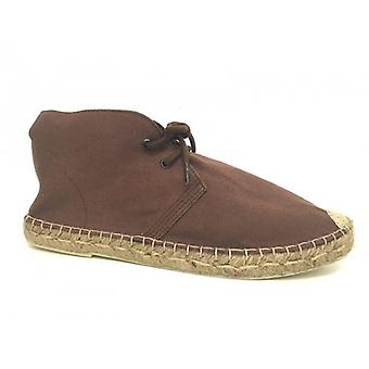 Polish Men's Shoes A Espadrillas Rope Elite Brown Cotton Us16el01
