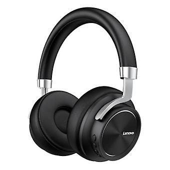 Lenovo HD800 Bluetooth Headphones with AUX Connection - Headset DJ Headphones Black