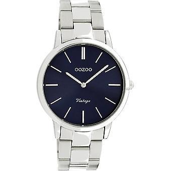 Oozoo - Women's Watch - C20029 - Silver Blue