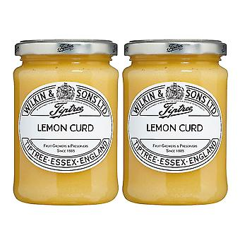 2 x 312g Lemon Curd Tangy Juice Toast Spread Jam Dip Muffin Cup Cake Topping Batter