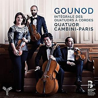 Quatuor Cambini - Gounod: Complete String Quartets [CD] USA import