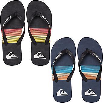 Quiksilver Mens Molokai Seasons Summer Beach Pool Sandals Thongs Flip Flops