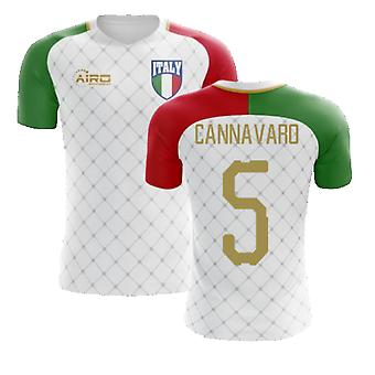 2020-2021 إيطاليا بعيدا مفهوم كرة القدم قميص (Cannavaro 5)