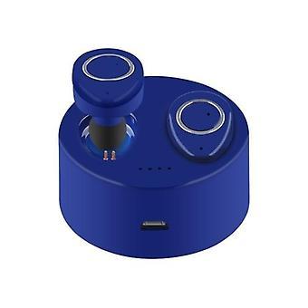 Langattomat TWS-F1 BT -kuulokkeet, joissa on vaaleanpunainen mikrofoni