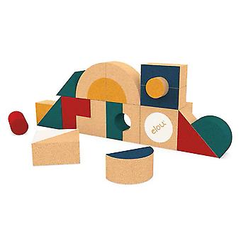 Elou Shapes 18 Building Toy