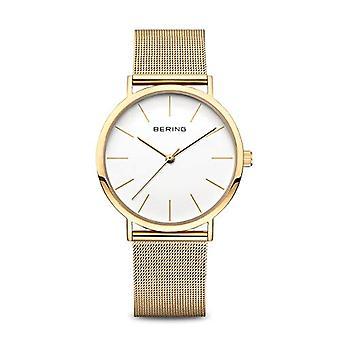 BERING Analoge Quartz Horloge Vrouw met Roestvrij Staal Band 13436-334